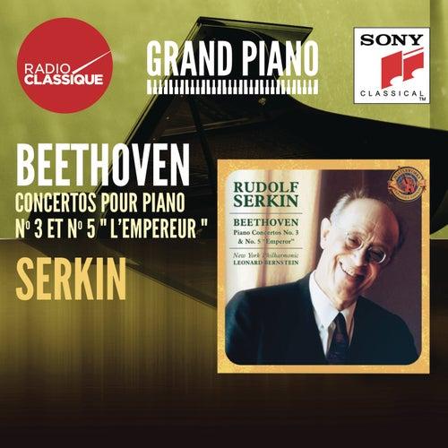 Beethoven: Concertos 3 & 5 - Serkin by Leonard Bernstein