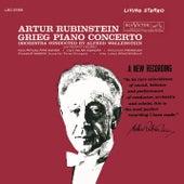 Grieg: Piano Concerto in A Minor, Op. 16 - Schumann - Villa-Lobos - Liszt - Prokofiev - de Falla by Arthur Rubinstein