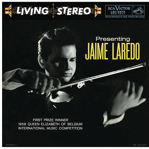 Presenting Jaime Laredo by Jaime Laredo
