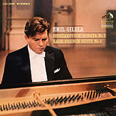 Shostakovich: Piano Sonata No. 2 in B Minor, Op. 61 & Bach: French Suite No. 5 in G Major, BWV 816 by Emil Gilels