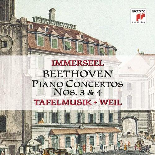 Beethoven: Piano Concertos Nos. 3 & 4 by Jos van Immerseel