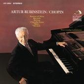 Chopin: Barcarolle, Op. 60; 3 Nouvelles Études; Boléro, Op. 19; Fantaisie, Op. 49; Berceuse, Op. 57 & Tarantelle, Op. 43 by Arthur Rubinstein