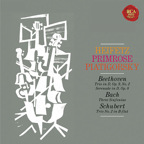 Heifetz, Primrose and Piatigorksy: The String Trio Collection - Heifetz Remastered by Jascha Heifetz