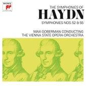 Haydn: Symphonies Nos. 52 & 55 by Max Goberman