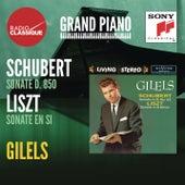 Schubert / Liszt: Sonates - Gilels by Emil Gilels