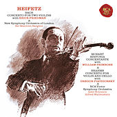 Bach: Concerto in D Minor for Two Violins, BWV 1043 - Mozart: Sinfonia concertante in E-Flat Major, K. 364 - Brahms: Concerto in A Minor for Violin and Cello, Op. 102 - Heifetz Remastered by Various Artists