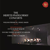 Mendelssohn: Octet in E-Flat Major, Op. 20 - Spohr: Double Quartet in D Minor, Op. 65 - Francaix: Trio in C Major - Heifetz Remastered by Various Artists