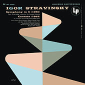 Stravinsky: Symphony in C & Cantata by Various Artists