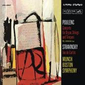 Poulenc: Organ Concerto & Stravinsky: Jeu de cartes by Charles Munch