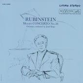 Mozart: Piano Concerto No. 24 in C Minor, K. 491 & Rondo in A Minor, K. 511 by Arthur Rubinstein