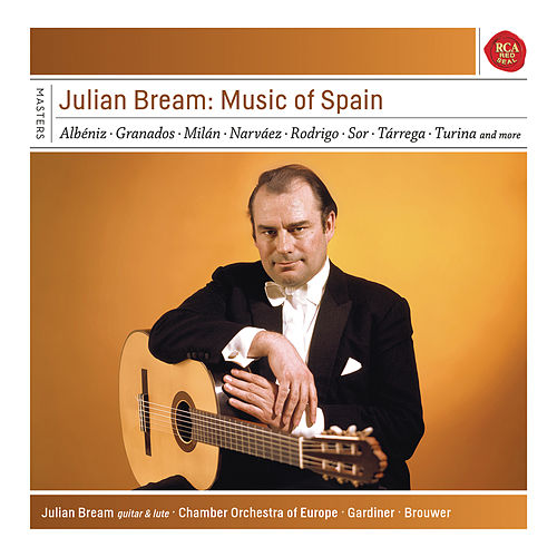 Julian Bream - Music of Spain by Julian Bream