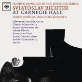 Sviatoslav Richter Plays Schumann, Chopin & Ravel - Live at Carnegie Hall (October 30, 1960) by Sviatoslav Richter