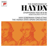 Haydn: Symphonies Nos. 60, 65 & Acide e Galatea Overture by Max Goberman