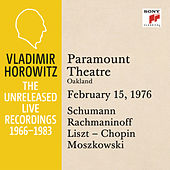 Vladimir Horowitz in Recital at Paramount Theatre, Oakland, February 15, 1976 by Vladimir Horowitz