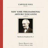 Arturo Toscanini at Carnegie Hall, New York City, March 1931 & April 1933 by Various Artists