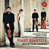 Brahms, Fauré & Schnittke: Piano Quartets by Berlin Piano Quartet