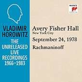 Vladimir Horowitz in Recital at Avery Fischer Hall, New York City, September 24, 1978 by Vladimir Horowitz