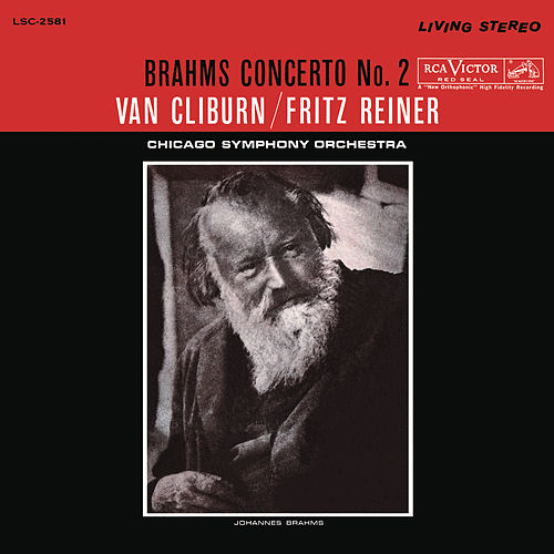 Brahms: Piano Concerto No. 2 in B-Flat Major, Op. 83 by Van Cliburn