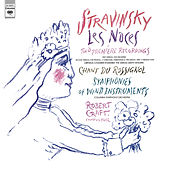 Stravinsky: Symphony of Wind Instruments, Les Noces & Chant du Rossignol by Robert Craft