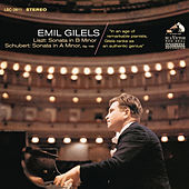 Liszt: Piano Sonata in B Minor, S. 178 & Schubert: Piano Sonata No. 14 in A Minor, D. 784, Op. 143 by Emil Gilels