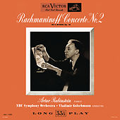 Rachmaninoff: Piano Concerto No. 2 in C Minor, Op. 18 by Arthur Rubinstein