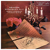 Brahms: Symphony No. 1 in C Minor, Op. 68 by Charles Munch