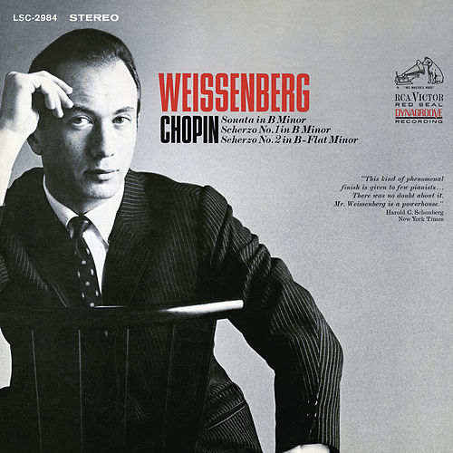 Chopin: Sonata in B Minor, Scherzo No. 1 in B Minor & Scherzo No. 2 in B-Flat Minor by Alexis Weissenberg