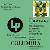 Stravinsky: Le Sacre du printemps by Igor Stravinsky