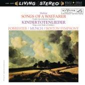 Mahler: Lieder eines fahrenden Gesellen & Kindertotenlieder by Charles Munch
