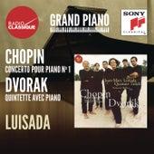 Chopin: Concerto 1 / Dvorak: Quintette - Luisada by Various Artists