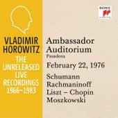 Vladimir Horowitz in Recital at Ambassador College, Pasadena, February 22, 1976 by Vladimir Horowitz
