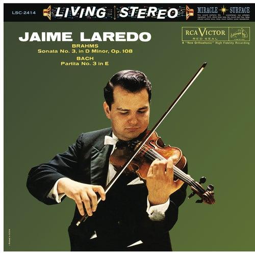 Jaime Laredo Plays Brahms & Bach by Jaime Laredo