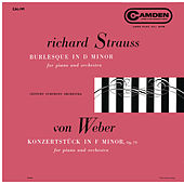 Strauss: Burleske D Minor, TrV 145 - Weber: Konzertstück for Piano and Orchestra in F Minor, Op. 79 by Various Artists