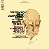 Stravinsky: Capriccio for Piano and Orchestra & Concerto for Piano and Wind Instruments by Philippe Entremont