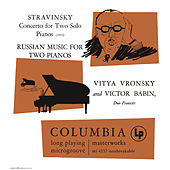 Stravinsky: Concerto for Two Solo Pianos - Russian Music for Two Pianos by Various Artists