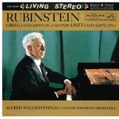 Grieg: Piano Concerto in A Minor, Op. 16 - Liszt: Piano Concerto No. 1 in E-Flat Major by Arthur Rubinstein