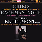 Grieg: Piano Concerto in A Minor, Op. 16 & Rachmaninoff: Rhapsody on a Theme of Paganini for Piano and Orchestra, Op. 43 by Various Artists