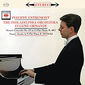 Mozart: Piano Concerto No. 22 in E-Flat Major, K. 482 & Piano Sonata No. 4 in E-Flat Major, K. 282 by Philippe Entremont