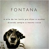 A Arte de Ter Tanto pra Dizer e Acabar Dizendo Sempre a Mesma Coisa by Fontana