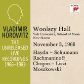 Vladimir Horowitz in Recital at Yale University, New Haven, November 3, 1968 by Vladimir Horowitz