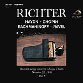 Sviatoslav Richter Plays Haydn, Chopin, Rachmaninoff and Ravel - Live at Mosque Theatre (December 28, 1960) by Various Artists