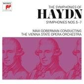 Haydn: Symphonies Nos. 5-7 by Max Goberman