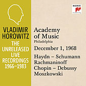 Vladimir Horowitz in Recital at Academy of Music, Philadelphia, December 1, 1968 by Vladimir Horowitz