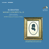 Mozart: Piano Concerto No. 20 in D Minor, K. 466 - Haydn: Andante and Variations in F Minor, Hob. XVII:6 by Arthur Rubinstein