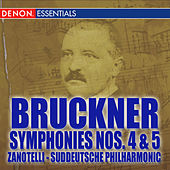 Bruckner: Symphonies Nos. 4 -5 by Various Artists