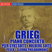 Grieg Piano Concerto - Peer Gynt - Holberg Suite by Libor Pesek