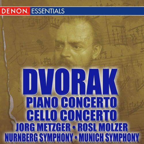 Dvorak: Piano Concert - Cello Concerto by Various Artists