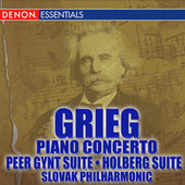 Play & Download Grieg Piano Concerto - Peer Gynt - Holberg Suites by Slovac Phiharmony | Napster