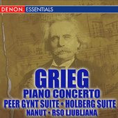 Grieg Piano Concerto - Peer Gynt - Holberg Suites by Various Artists