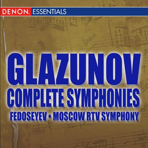 Play & Download Glazunov: Complete Symphonies by Vladimir Fedoseyev | Napster